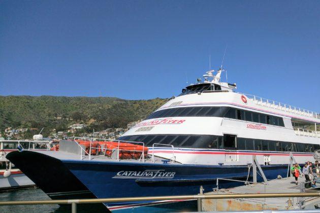 """<img src=""""Catalina Island.jpg"""" alt=""""ロサンゼルス観光フェリーCatalina Flyerでカタリナ島へ""""/>"""