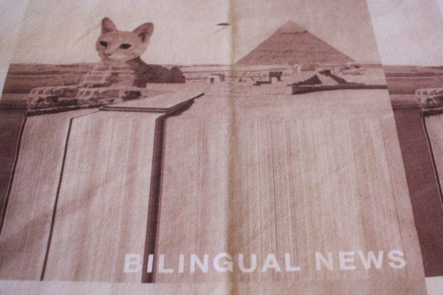 """<img src=Bilingual News T.jpg"""" alt=""""バイリンガルニュースファービンクスTシャツ""""/>"""
