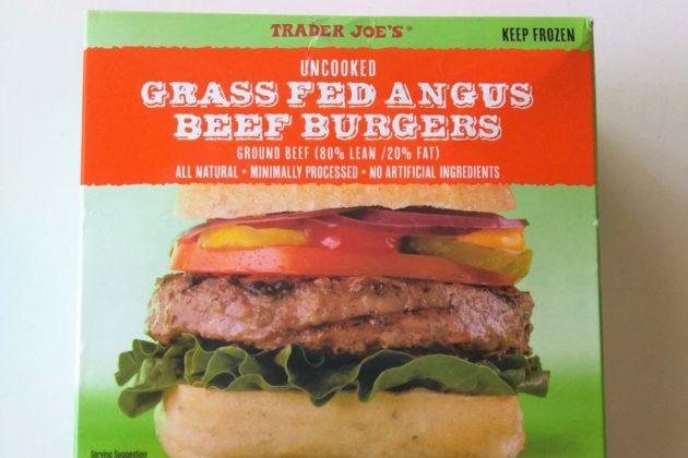 """<img src=""""Grass Fed Angus Beef Burgers.jpg"""" alt=""""トレジョのグラスフェッドアンガスビーフバーガー""""/>"""