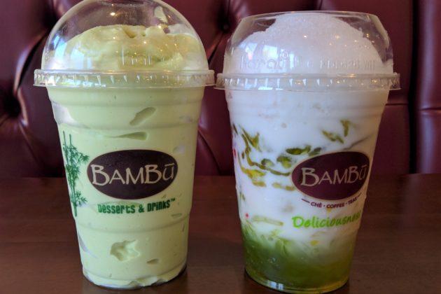 "<img src=""Bambu Desserts & Drinks.jpg"" alt=""Bambu Desserts & Drinksアボカドスムージーとチェー""/>"