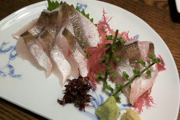 "<img src=""Sashimi.jpg"" alt=""築地魚河岸のかますのお刺身""/>"