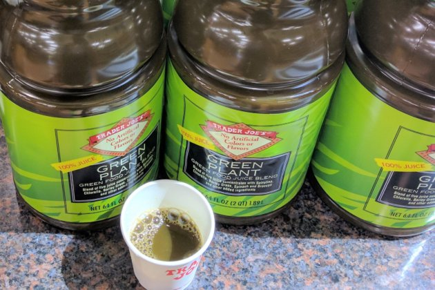 "<img src=""Trader Joe's Green Plant Juice .jpg"" alt=""トレジョグリーンジュース""/>"