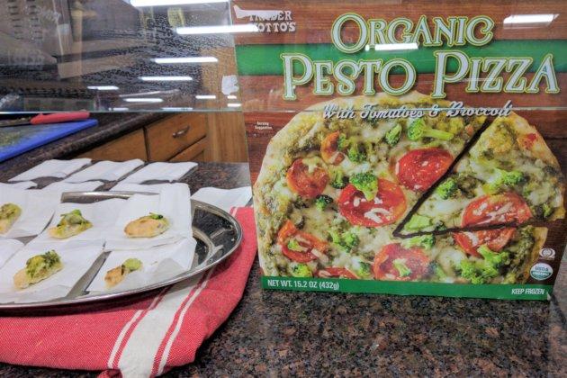 """<img src=""""Trader Joe's Pesto Pizza.jpg"""" alt=""""Trader Joe's Pesto Pizza""""/>"""